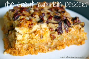 We Promise Tasty Pumpkin Desserts!