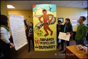 WA: Climate Change Activists Target Kinder Morgan Over TMPL Expansion