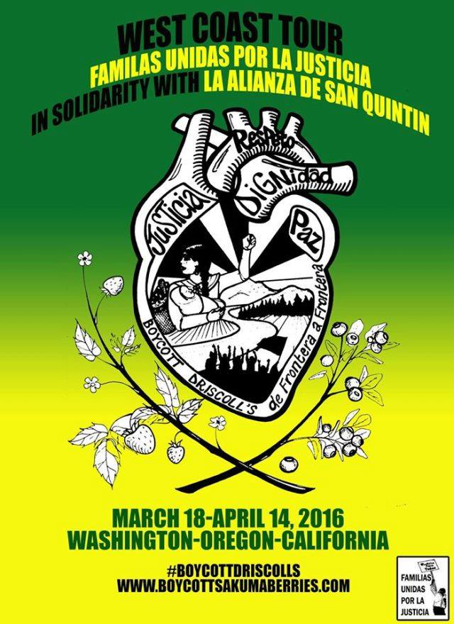 Support the Berrypickers Union! – March 18th & 19th