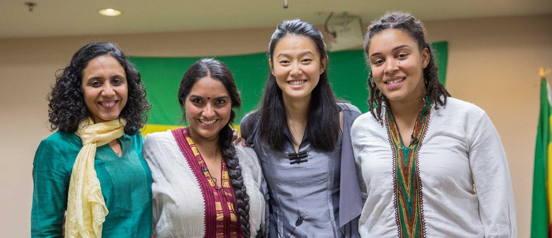 Sarra Tekola, Afrin Sopariwala, Yin Yu, and Zarna Joshi.
