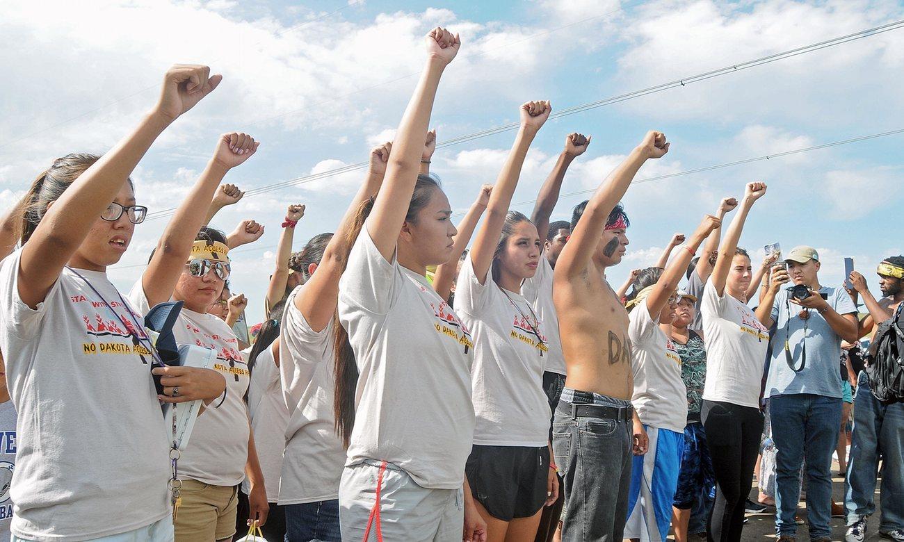 From the Dakota Pipeline Resistance